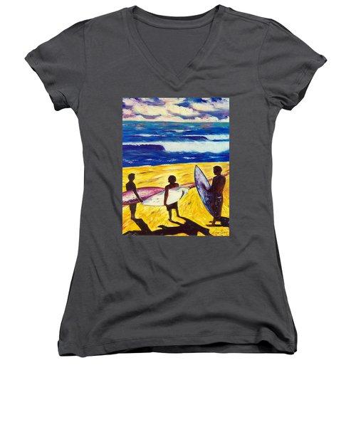 Surf's Up Women's V-Neck