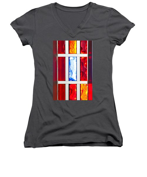 Surrounded By Color Women's V-Neck