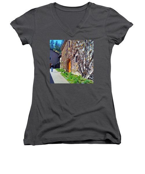 The Hess Collection - Napa Ca Women's V-Neck