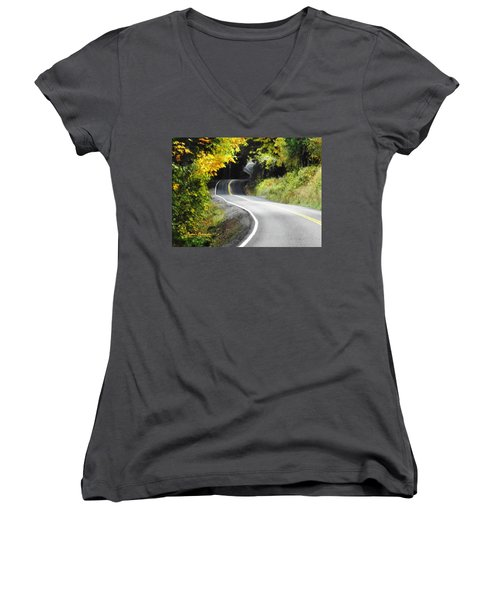 The Low Road Women's V-Neck (Athletic Fit)