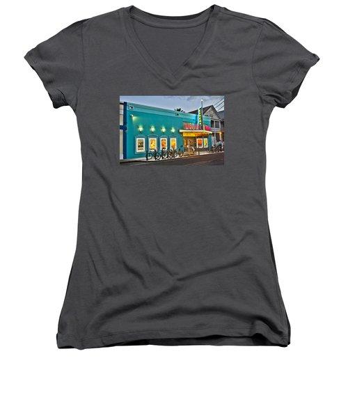 Tropic Cinema Women's V-Neck T-Shirt