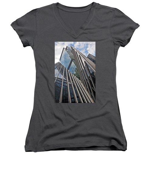 Trylon Towers Women's V-Neck