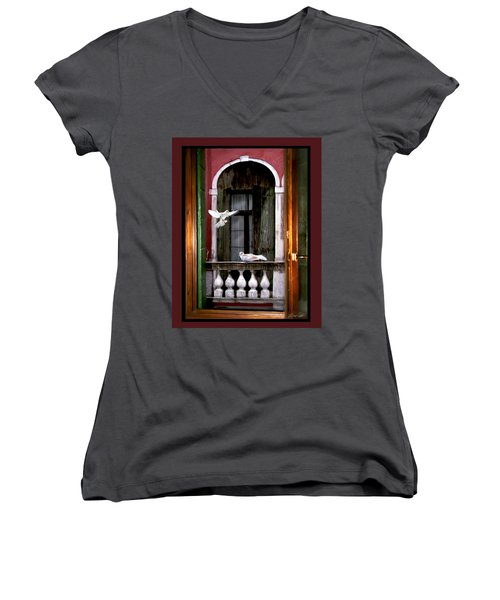 Venice Window Women's V-Neck (Athletic Fit)