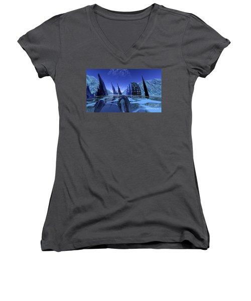 Visitation Women's V-Neck T-Shirt
