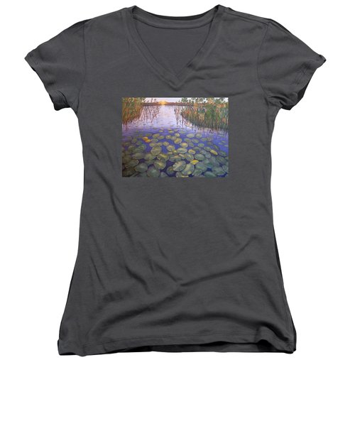 Waterlillies South Africa Women's V-Neck