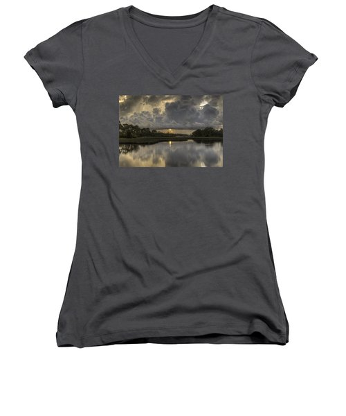Wicked Morning Women's V-Neck (Athletic Fit)