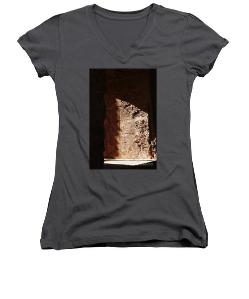 Window To The Shadows Women's V-Neck