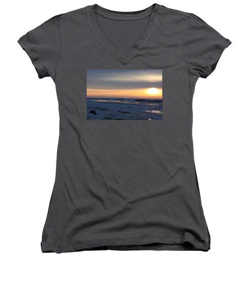 Winter Sleeps Women's V-Neck T-Shirt