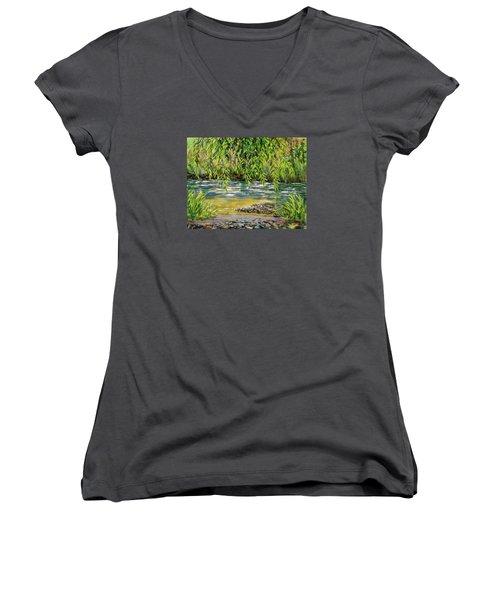 Yakima River Women's V-Neck T-Shirt