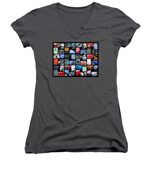 Bmw Art -01 Women's V-Neck