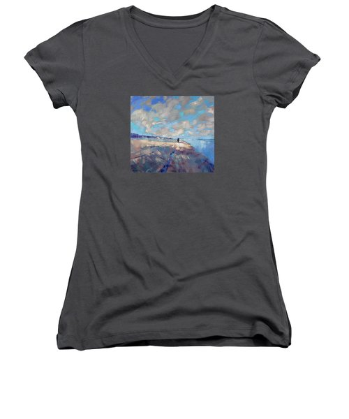 Eternal Wanderers Women's V-Neck T-Shirt