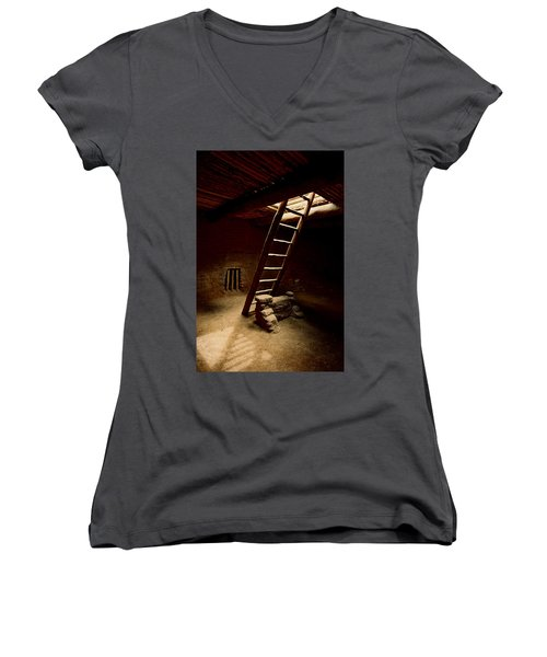 House Of Reflection And Prayer Women's V-Neck T-Shirt