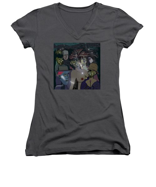 015 - Berlin  The 1920s - The Shining Women's V-Neck (Athletic Fit)