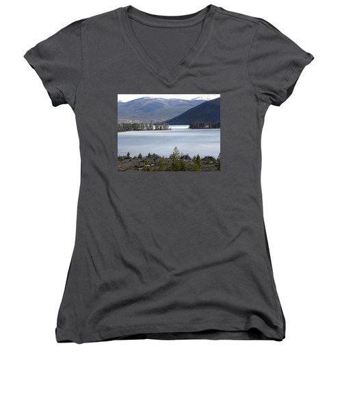 Granby Lake Rmnp Women's V-Neck