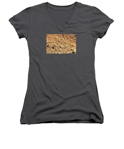 Abstract 2 Women's V-Neck (Athletic Fit)