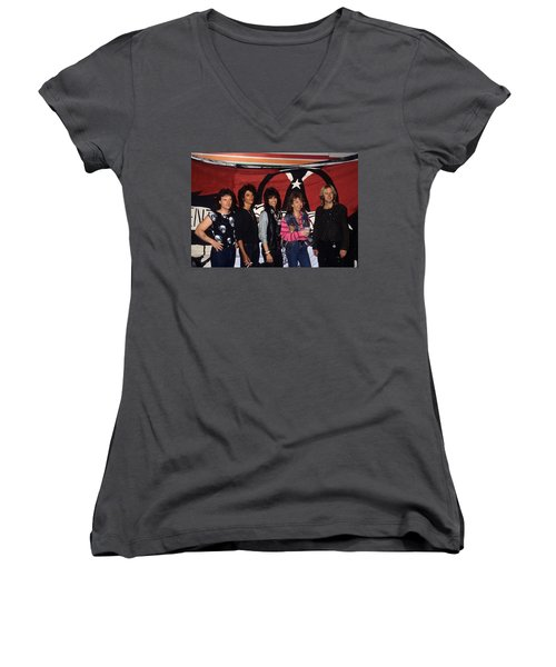 Aerosmith Women's V-Neck