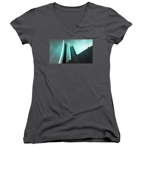 Architecture Women's V-Neck (Athletic Fit)