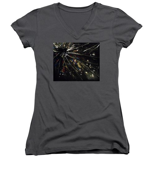 Black Hole Women's V-Neck T-Shirt