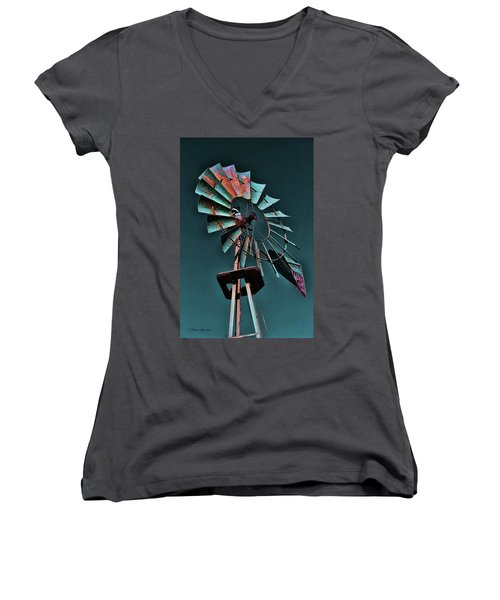 Blades Women's V-Neck T-Shirt