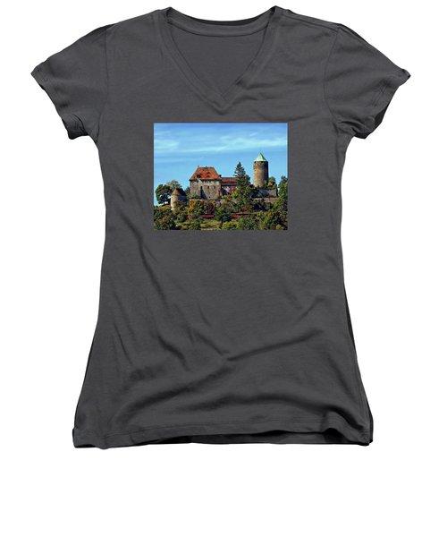 Burg Colmberg Women's V-Neck