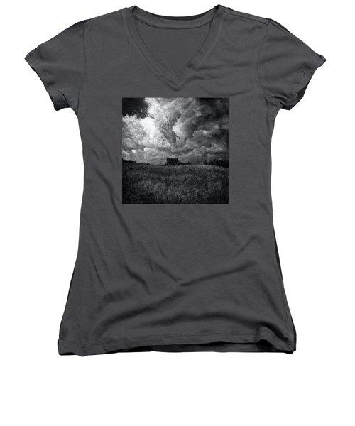 Cloudscape 1 Women's V-Neck T-Shirt