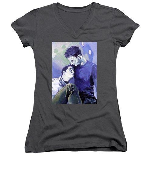 Cradle My Heavy Heart Women's V-Neck T-Shirt
