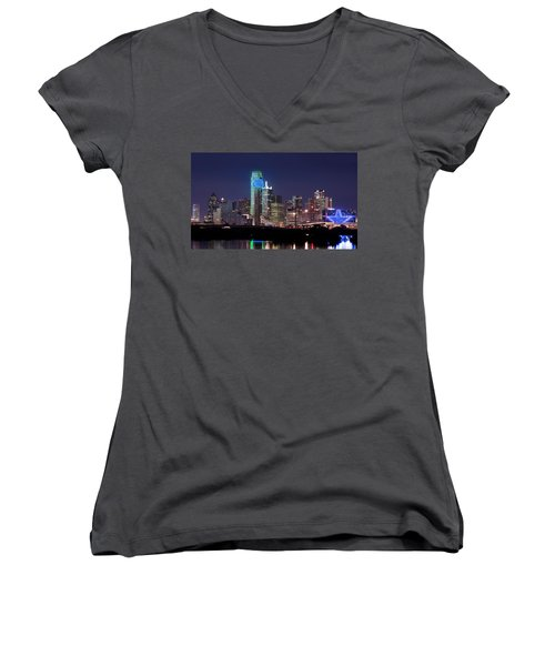 Dallas Skyline Cowboys Women's V-Neck