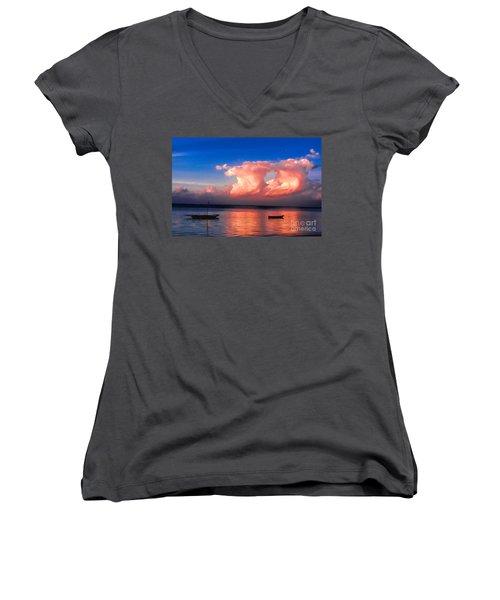 Dawn Women's V-Neck T-Shirt