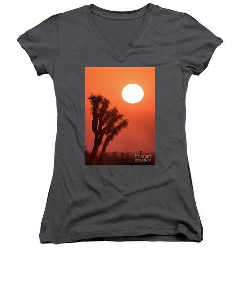 Desert Sunrise Women's V-Neck