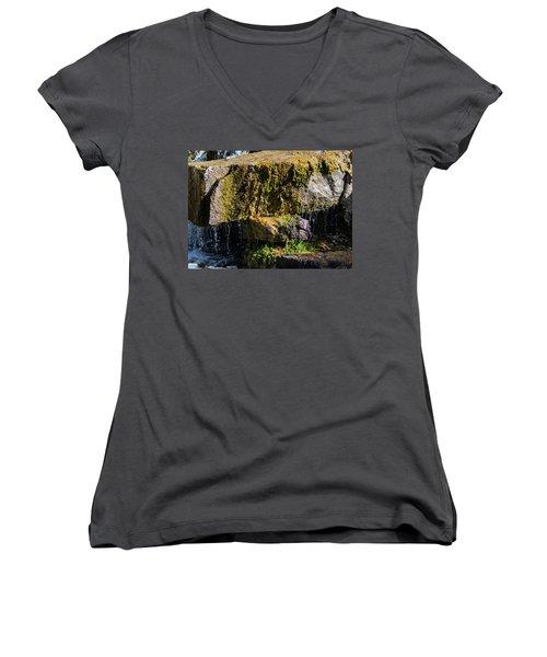 Desert Waterfall 2 Women's V-Neck