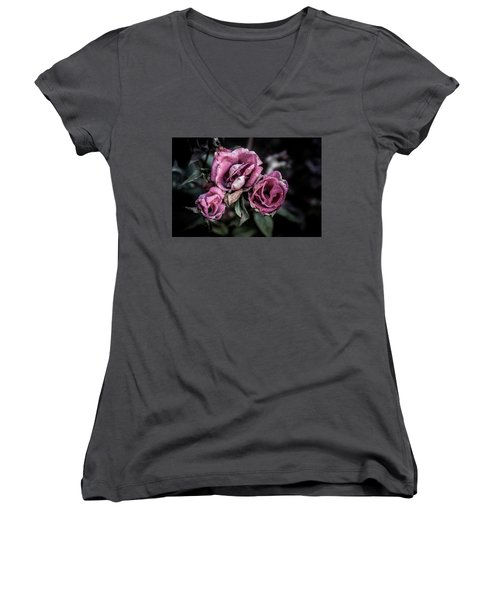 Fading Beauty Women's V-Neck