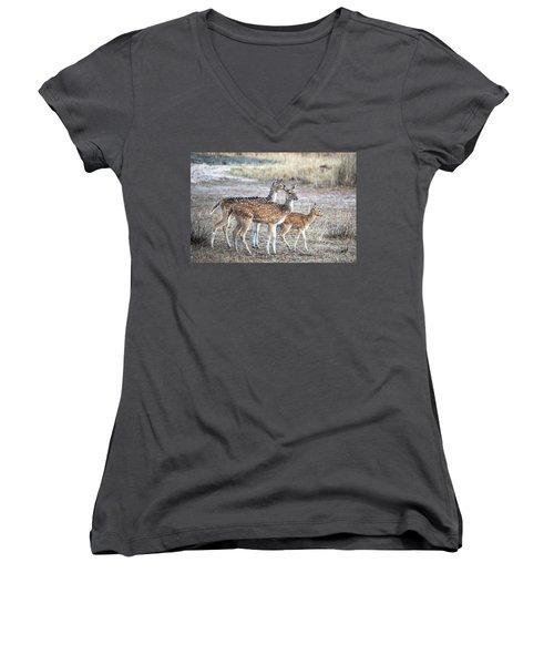 Family Outing Women's V-Neck T-Shirt