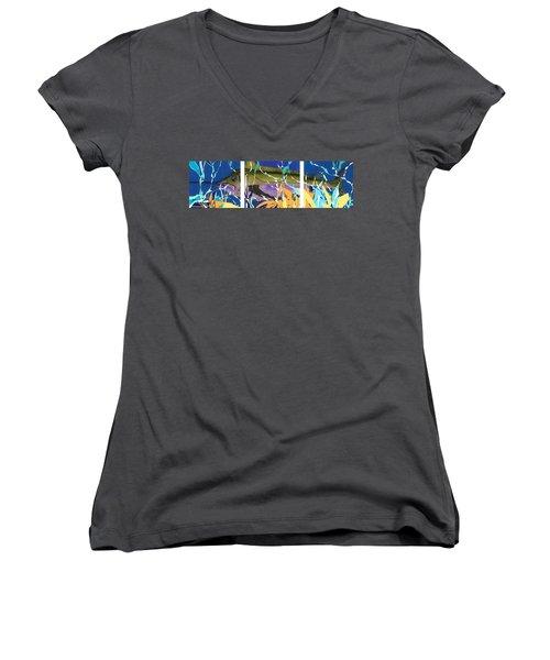 Fiesta Women's V-Neck T-Shirt (Junior Cut)