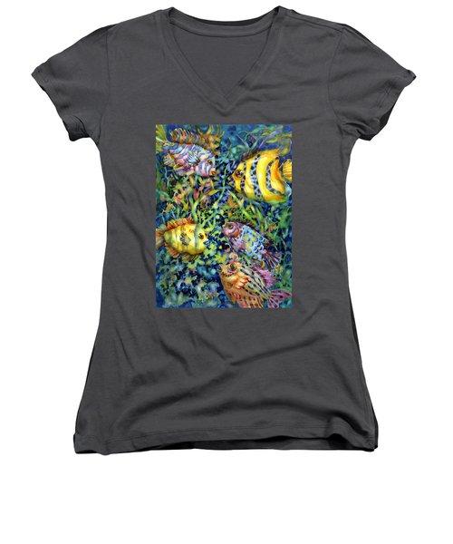 Fish Tales Iv Women's V-Neck