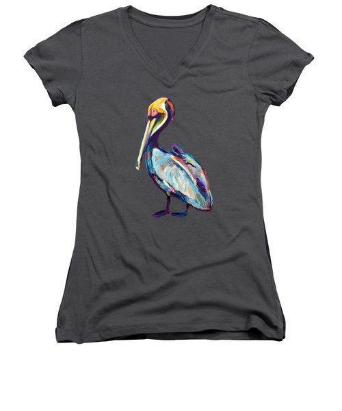 Florida Pelican Women's V-Neck T-Shirt