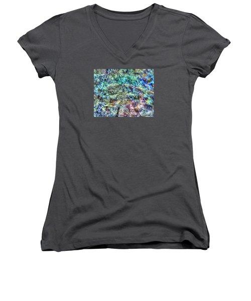 Fone Women's V-Neck T-Shirt (Junior Cut) by Yury Bashkin