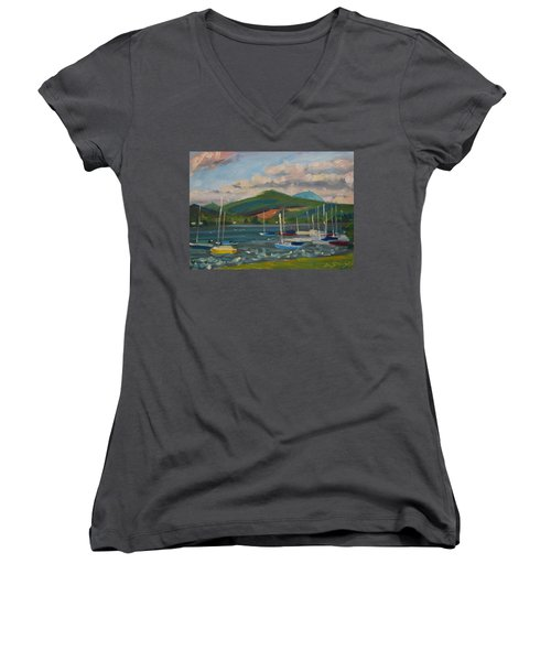 From The Blue Anchor Women's V-Neck T-Shirt