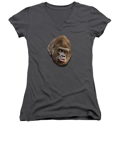 Gorilla Women's V-Neck