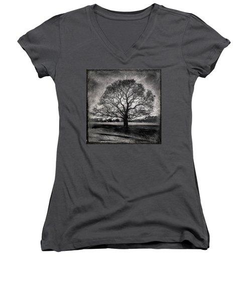 Hagley Tree Women's V-Neck T-Shirt