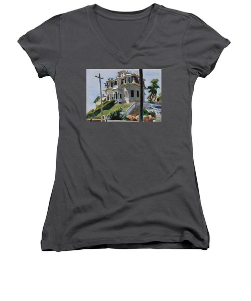 Haskell's House Women's V-Neck