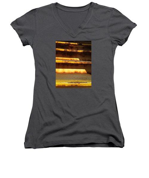 Heavy Metal Women's V-Neck T-Shirt (Junior Cut) by Olivier Calas