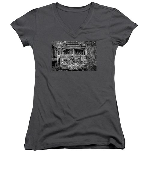 Here's Looking At You Women's V-Neck (Athletic Fit)