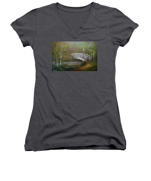 Hideaway Women's V-Neck T-Shirt