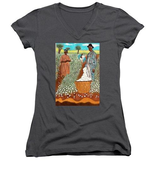 High Cotton Women's V-Neck
