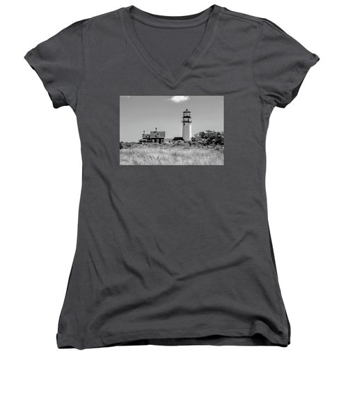 Highland Light - Cape Cod Women's V-Neck (Athletic Fit)