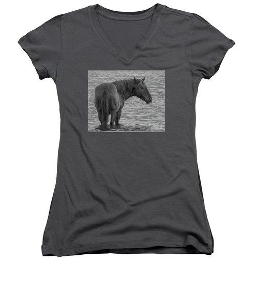 Horse 10 Women's V-Neck