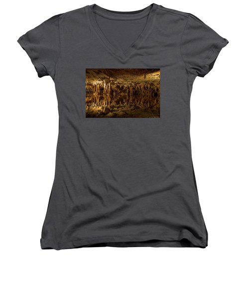 In The Upside-down Women's V-Neck (Athletic Fit)
