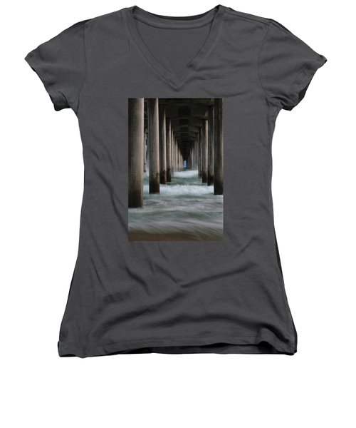 Women's V-Neck featuring the photograph Infinity by Edgars Erglis
