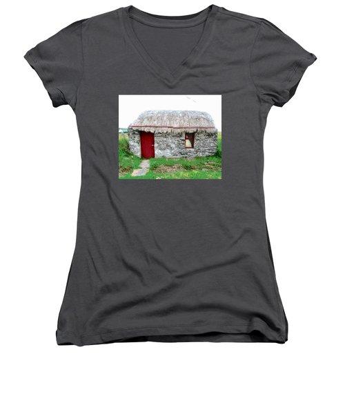 Irish Cottage Women's V-Neck T-Shirt