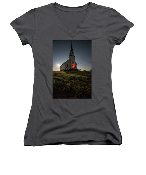 Knockin On Heaven's Door Women's V-Neck T-Shirt
